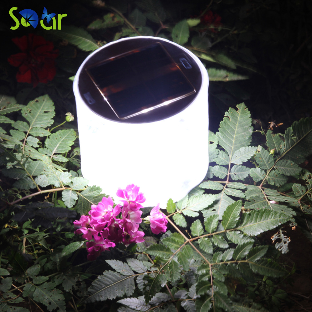 Lights On Sale: 2017 Hot Sale 10LED Solar Powered Foldable Inflatable