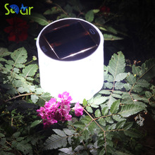 2017 Hot Sale 10LED Solar Powered Foldable Inflatable Protable Light Lamp For Garden Yard Led Solar Light Outdoor