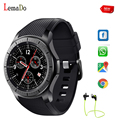 Lemado LF16 наручные часы Новый Android Bluetooth Smart Watch Для Android IOS Телефон смотреть СИМ-Карты Часы PK LEM3