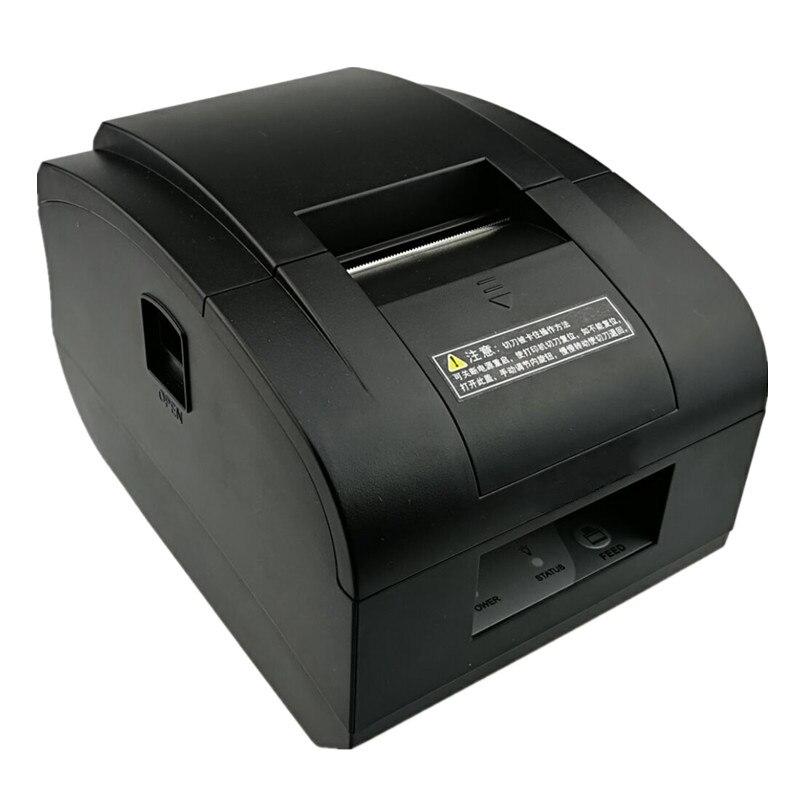 En gros brand new 58mm POS imprimante Avec coupe-papier automatique Haute qualité têtes d'impression réception des factures thermique imprimante à faible bruit