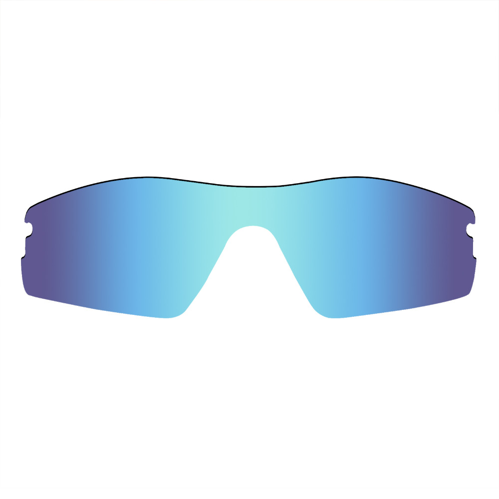 40a652c485 Mryok Anti-Scratch POLARIZED Replacement Lenses for Oakley Radar Pitch  Sunglasses Ice Blue