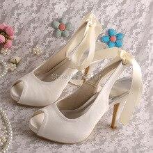 Wedopus Новый Дизайн Летняя Обувь Цветок Обувь Сандалии Синий Женщины Med Пятки