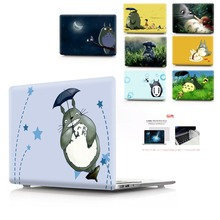 цена на Color printing Totoro Laptop Case For MacBook Air Retina Pro 11 12 13 15 For MacBook  New Air 13 New Pro 13 15 with Touch Bar