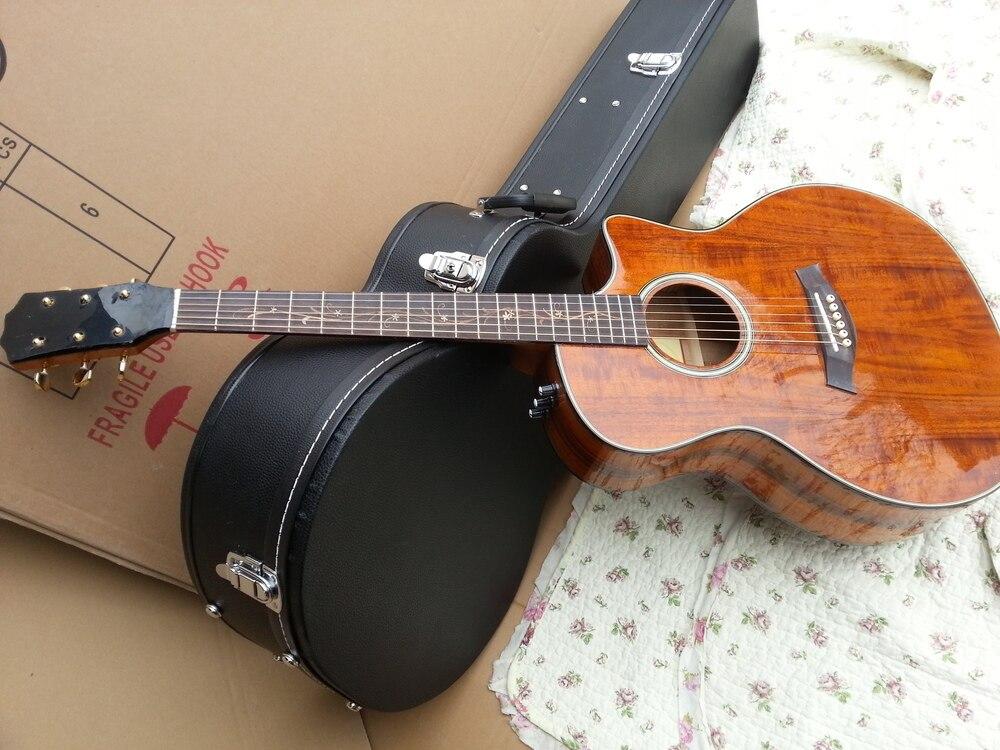 2018 New Factory KOA K24 acoustic guitar Chaylor KOA K24ce electric acoustic guitar KOA K24c acoustic