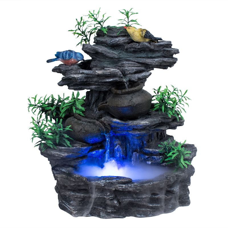 Bon Water Features Decoration Lucky Stone Rockery Water Fountain Resin Craft Home  Accessories Gift On Aliexpress.com | Alibaba Group