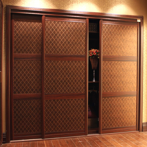 Guangzhou Oppein Sliding Door Wardrobe Bedroom Design Siling Closet Cabinet Yg11015
