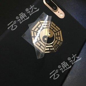 Image 2 - Custom gold โลหะสติกเกอร์ self   adhesive สติกเกอร์โลหะสำหรับแว่นตาขวด, นูนป้ายโลหะสติกเกอร์
