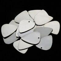 durable metal stainless steel guitar pick plectrum