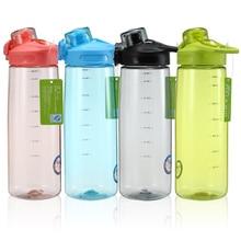 750 ml BPA volná lahvička Push Cover Rovná pitná láhev Prohlídka turistiky Horolezectví Camp Sport Lahvičky