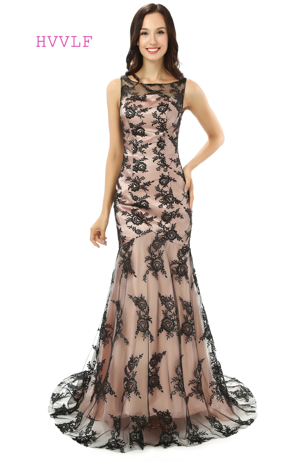Online Buy Wholesale elegant black evening dresses from China ...