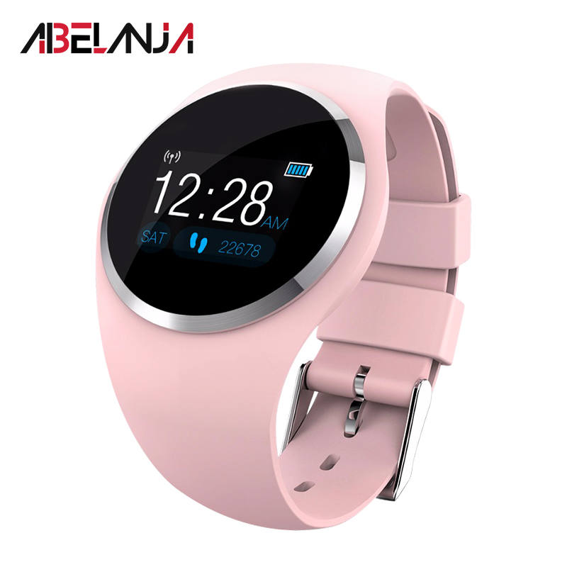 Smart Bracelet Heart Rate Fitness Tracker Smart Wristband Blood Pressure Oxygen Men Women Smart Watch for IOS Android in Smart Wristbands from Consumer Electronics