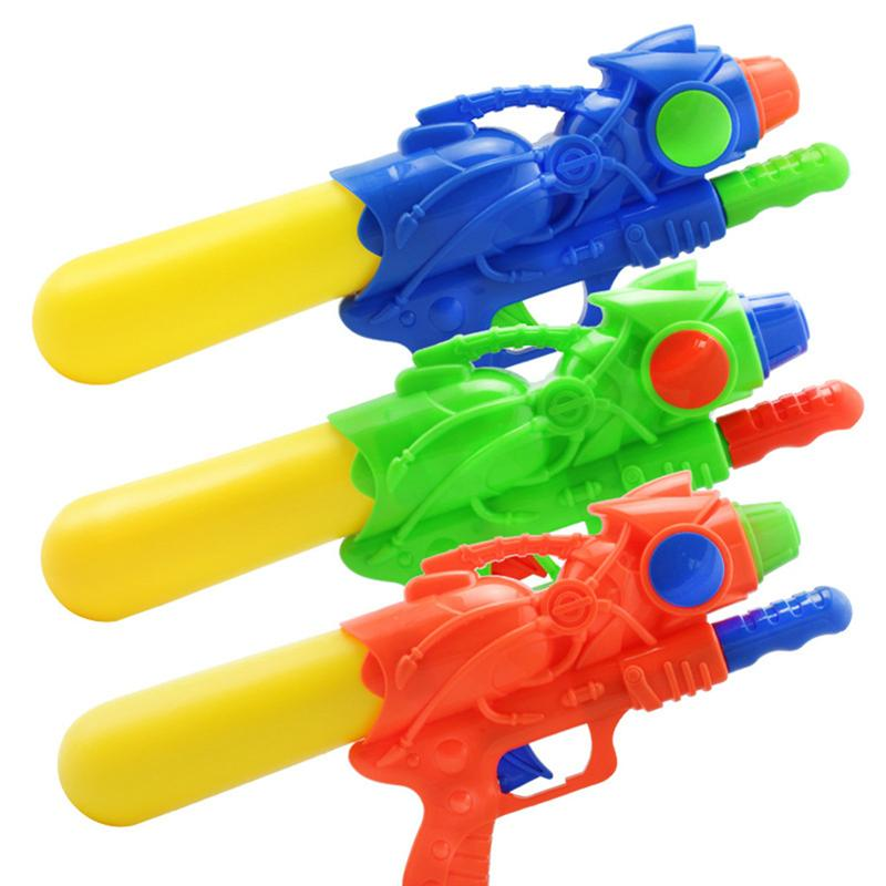 3 PCS Water Gun Shooting Pistols Toy Powerful Pump Action Kids Bathroom Outdoor Sports Games for Children Kids Summer