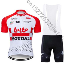 Verano de 2019 Lotto Ciclismo conjunto bicicleta camisetas transpirable  bicicleta de montaña Ropa Maillot Ropa Ciclismo 11a85445f