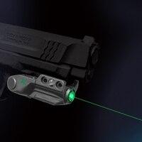 Tactical Lazer Pointer Green Smart Control Gun Green Laser Glock 19 Long Range Self Defense Weapons Mira Laser Pistola
