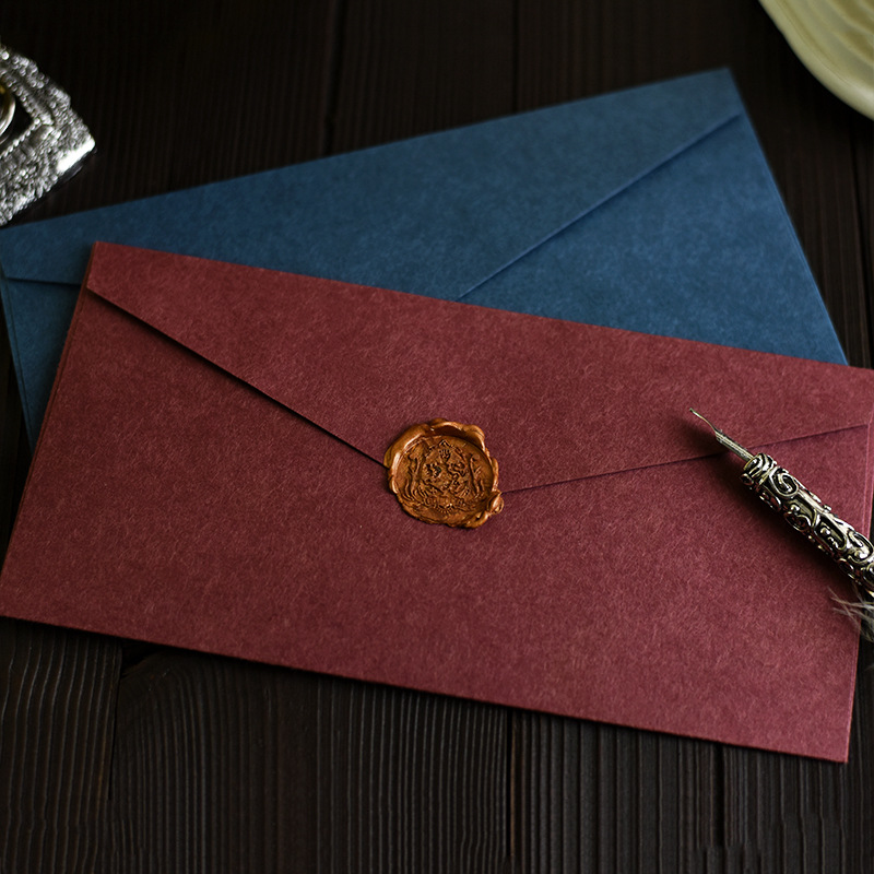 3PCS/PACK Kawaii Simple Solid Color Retro Paper Envelope Vintage Envelopes For Card Wedding Party Scrapbooking Papeleria Sl1183