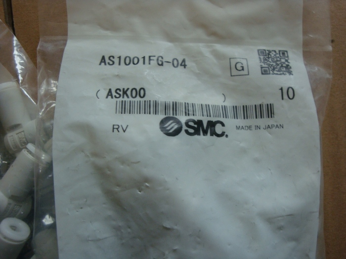 BRAND NEW JAPAN SMC GENUINE SPEED CONTROLLER AS1001FG-04