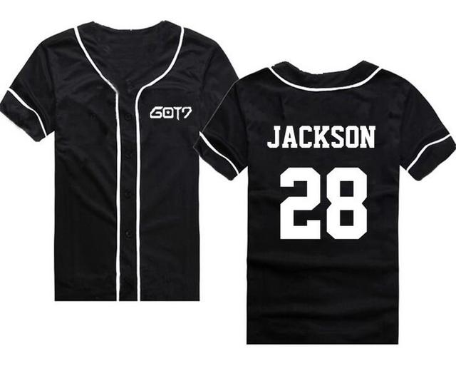 Got7 Baseball T-shirt Fashion 4