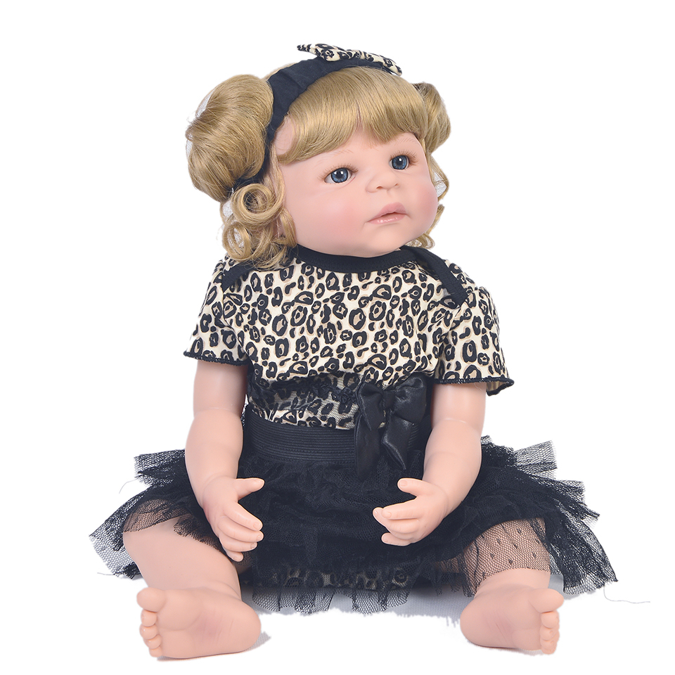 22 bebes reborn alive bonecas  Lifelike Reborn Baby Doll Girls Full Body Vinyl Silicone curly hair child gift reborn doll22 bebes reborn alive bonecas  Lifelike Reborn Baby Doll Girls Full Body Vinyl Silicone curly hair child gift reborn doll