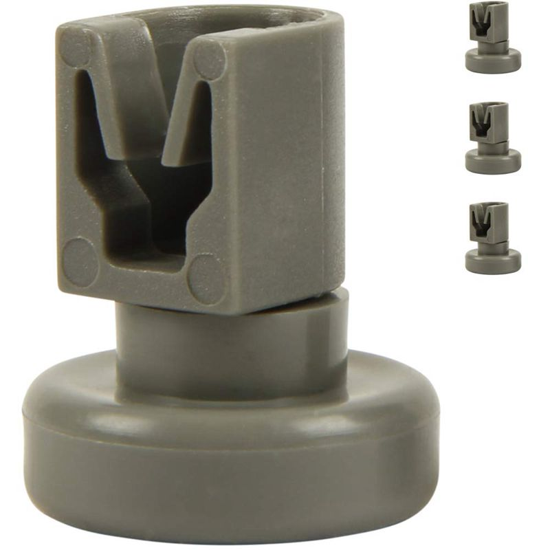 Dishwasher Upper Rolls Content: 4 Pieces Suitable For Aeg Favorit, Privileg, Zanussi, Uvm