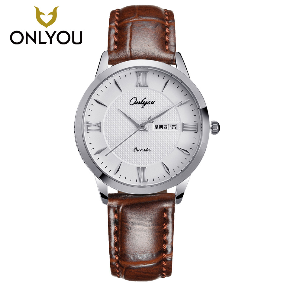 ONLYOU Quartz Watch Women Watches Brand Women Fashion Wrist Watch Ladies Luxury Dress Watch Women Bracelet Watch reloj mujer