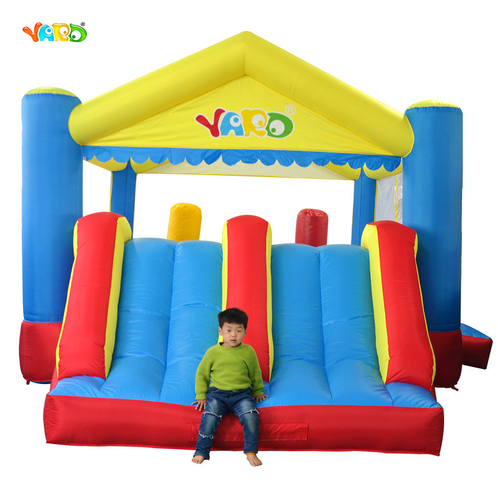 d646b2aa4079 YARD Big Inflatable Games Bouncer Double Sides Free Gift PE Balls ...