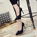 10cm size 34-40 Pointed Toe women banquet Pumps lady Wedding Party Shoes leather Casual Canvas dancing party high heels G01
