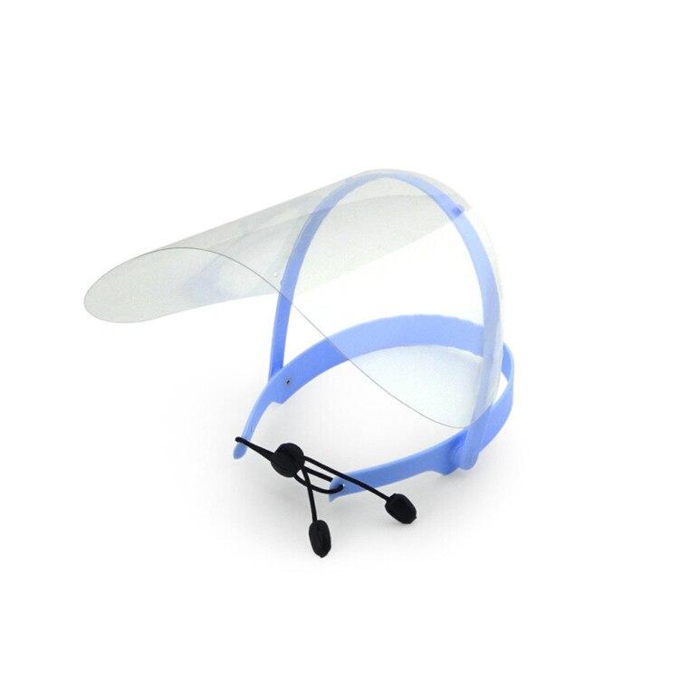 Newest Anti-fog Protective Medical Mask Dental Face Shield For Dentist Clinic Hospital Work , 1 Frame + 10 Films