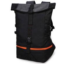 Zebella черный мужской рюкзак большой емкости мужские дорожные рюкзаки спортивная баскетбольная сумка дышащий рюкзак Mochila школьная сумка