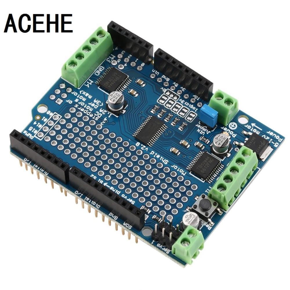 ACEHE Lightweight Durable Blue Motor/Stepper/Servo/Robot Shield For ...