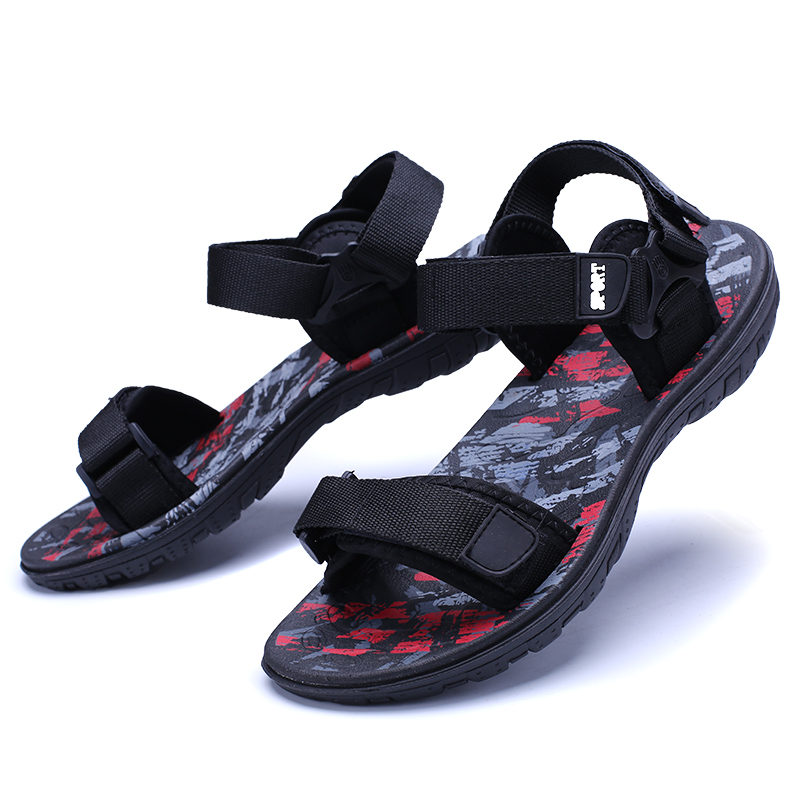 c95a5d24bb39 Ramialali New Summer Beach Shoes Men Sandals Roma Leisure Breathable Casual  Flip Flops Men Water Shoes Male Gardening Shoe-in Men s Sandals from Shoes  on ...
