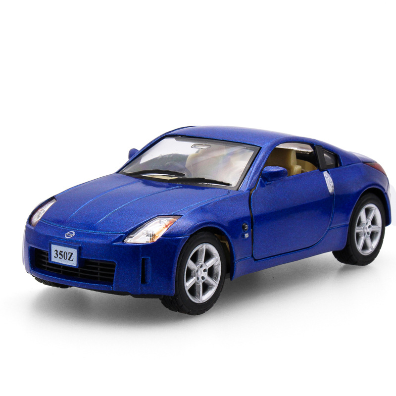 1:34 alloy pull back cars,high simulation Nissan 350Z sports car ...