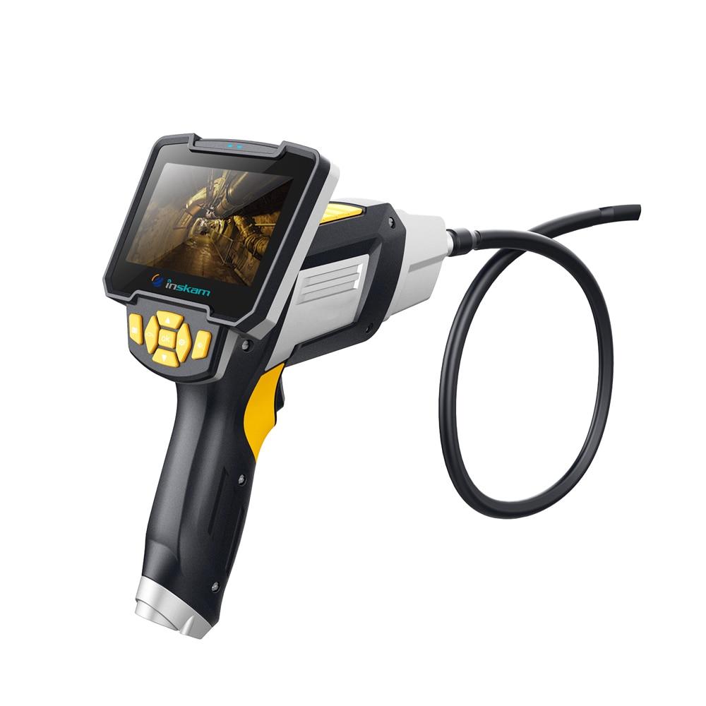 Werkzeuge Endoskope WunderschöNen Inskam112 4,3 Zoll Display Screen 1 M 5 M 10 M Handheld Endoskop Industrie Hause Endoskope Mit 6 Leds Fest In Der Struktur