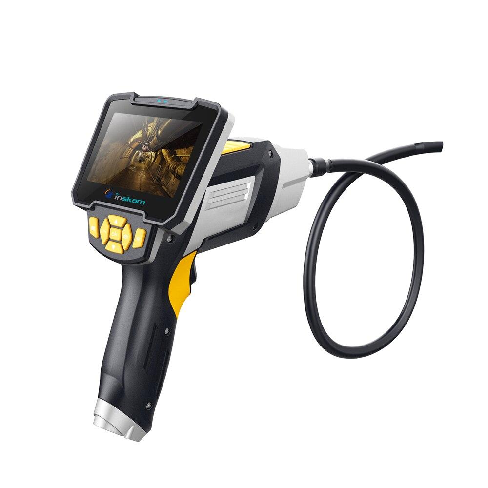 Tela inskam112 4.3 Polegada 1 m 5 m 10 m Endoscópios Endoscópio Handheld Doméstico e Industrial com 6 LEDs