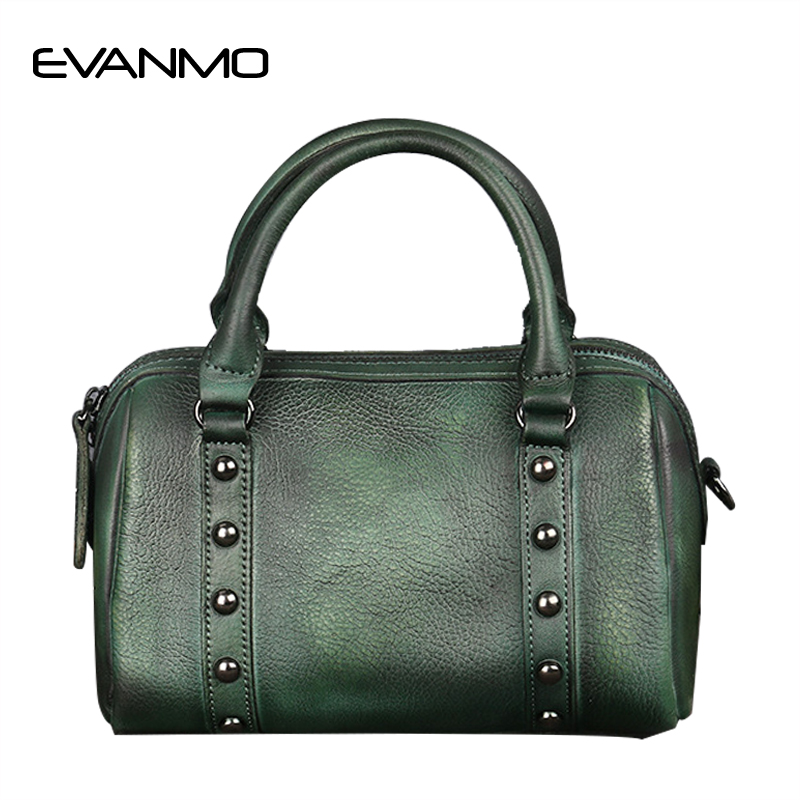 High Quality Designer Luxury Brand Boston Crossbody Bag Real Cow Leather Ladies Women Genuine Leather Handbag Shoulder Bag women genuine leather handbag fashion trend shoulder bag office lady tot high quality designer luxury brand boston crossbody bag