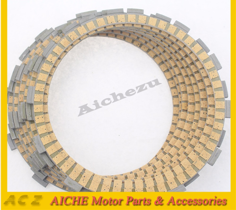 ACZ Motorcycle 8Pcs Engine Parts Clutch Friction Plates Paper-Based Clutch Frictions Plate Kit For BMW R1200S K1300R K1200R