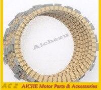 Acz motocicleta 8 peças de motor peças de fricção de embreagem placas de fricção à base de papel embreagem placa kit para bmw r1200s k1300r k1200r