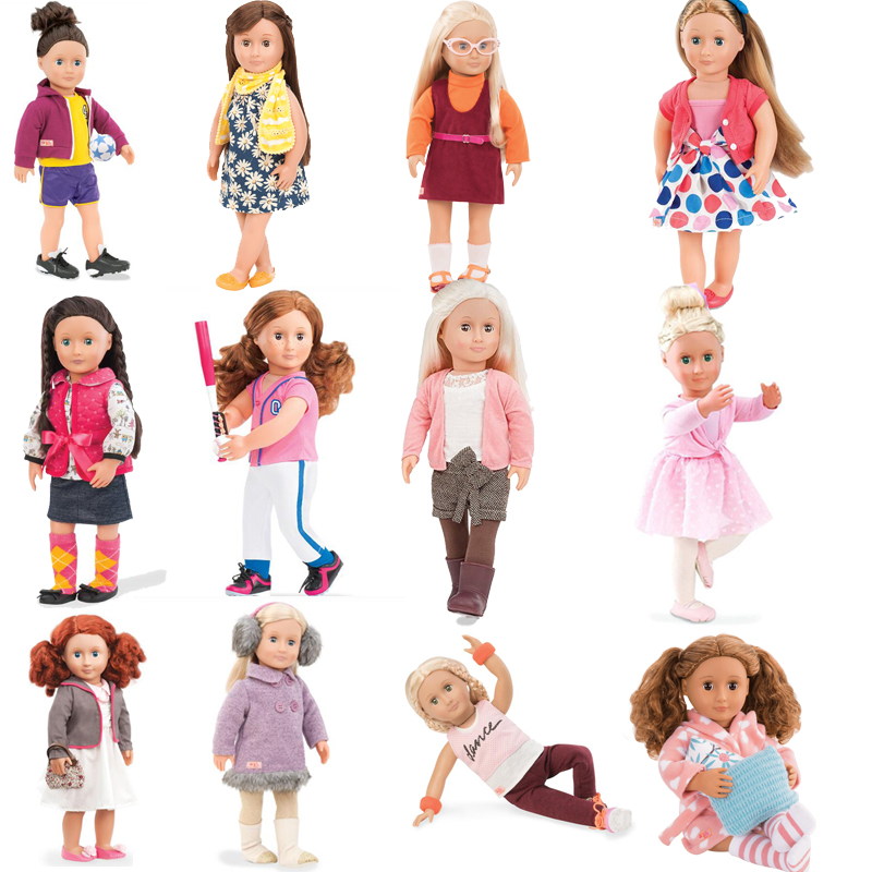 Our Generation Doll Clothes With 12 Kinds of Styles Doll Accessories For 18inch American Girl Doll And Any 43cm Doll