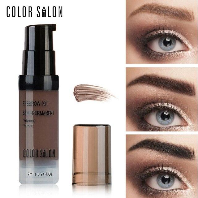 Salon De Couleur Nu Ombre Pour Sourcils Gel 7 Ml Maquillage Peinture  Étanche Teinte Naturel Sourcils