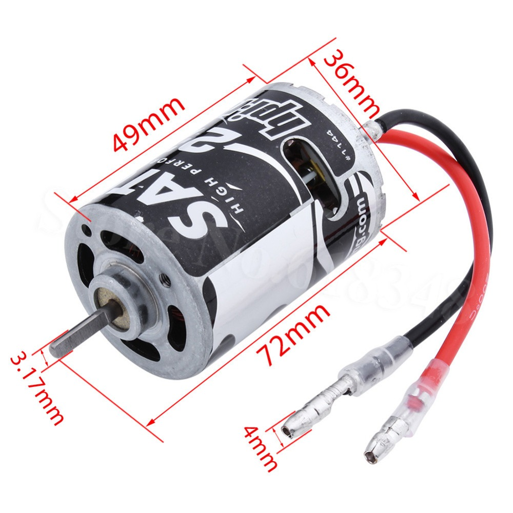 HPI Racing Saturn Motor 27T Brushed 3.17mm 540 Electric Engine for RC Car Wheelyking #1144