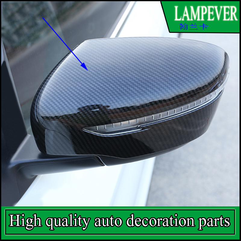 Car Styling ABS Door Side Wing Mirror Cover Trim For NISSAN QASHQAI 2016 2017 Rearview Mirror Protector Covers Trim Accessories abs chrome tail light covers trim rear lamp cover for nissan qashqai 2015 car styling stickers accessories free shipping