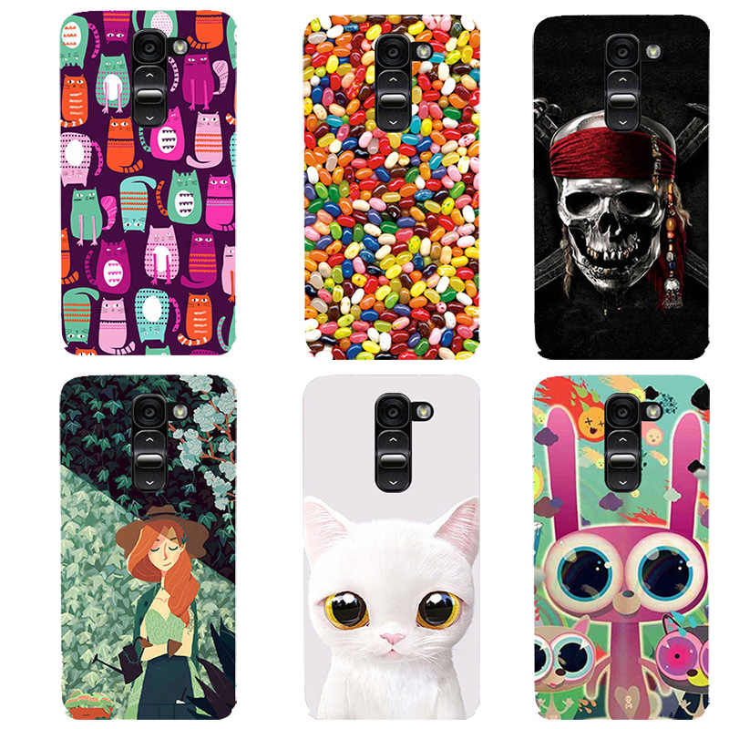 official photos 4742e c9b79 New Fashion Phone Case cartoon Case For LG G2 mini Case Cover soft silicone  For LG G2 mini D618 D620 Cover