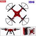 Drones syma x8hg 2.4g 6-axis quadcopter quadrocopter profissional com 8mp câmera hd rc helicóptero vs syma x8 x8g x8c dron zangão