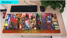 borderlands mouse pad gamer 800x300mm notbook mouse mat large gaming mousepad large HD pattern pad mouse PC desk padmouse