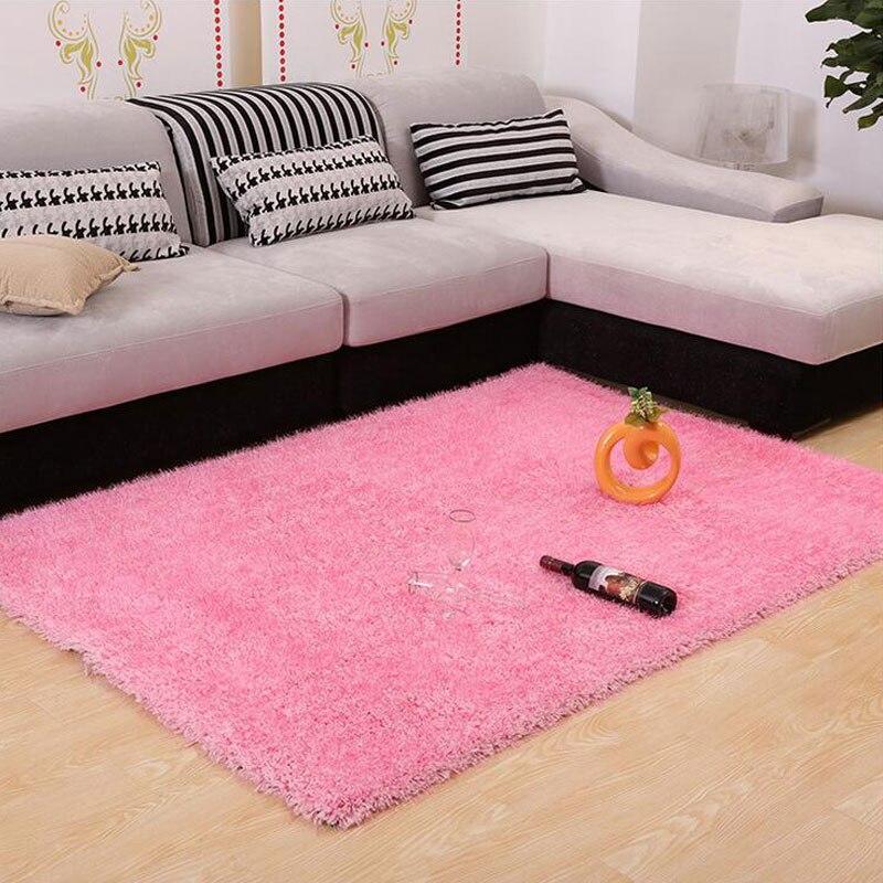 160cmX230cm Carpet Gaint Size Elastic And Bright Wire 5CM Fur Fluffy ...