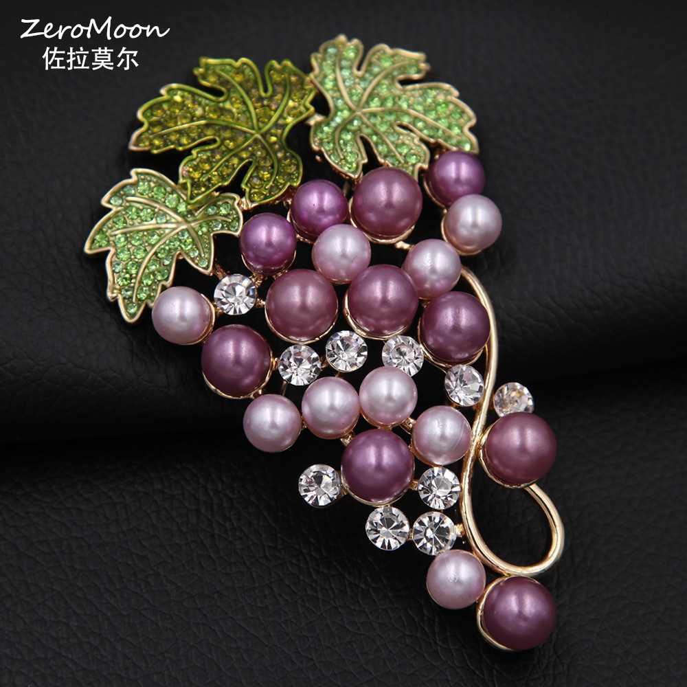 zozishine violet mamba products black brooch