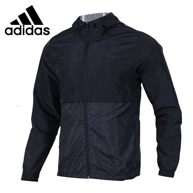 Original New Arrival Adidas NEO Label CS LW RVSB WB Men s jacket Hooded Sportswear