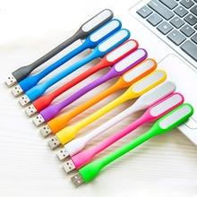 Mini Flexible USB led Night Lights Table Lamp Reading Book Light Gadgets usb Eye Hand Lamp for Power Bank PC laptop Notebook