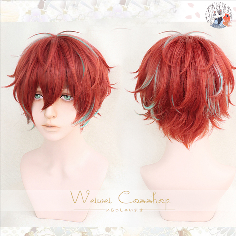 Top Quality Division Rap Battle Hypnosis MIC Doppo KannonzaKa Wigs Heat Resistant Synthetic Hair Cosplay Costume Wig + Wig Cap
