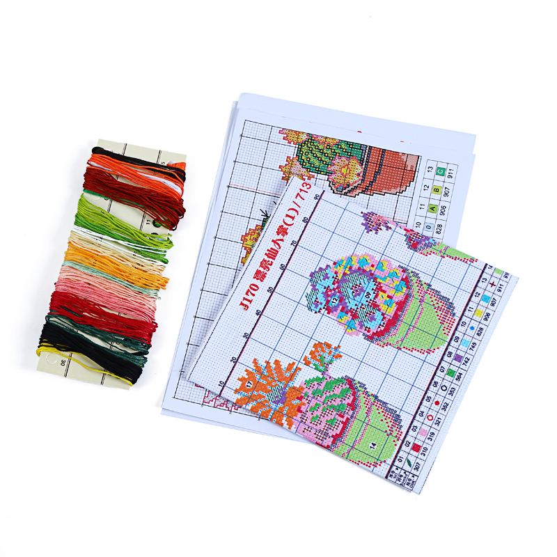 Electronic Components & Supplies Practical The Little Girl And The Piano Home Decor Canvas Cross Stitch Kits 14ct White 11ct Print Embroidery Diy Handmade Needlework Wall