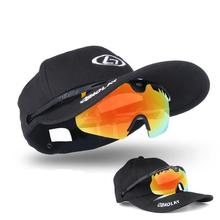 Buy HobbyLane Polarized Fishing Sunglass Men Camping Hiking Goggles Male Glasses Protection Clip on Cap Sports Fishing Eyewear Polar directly from merchant!